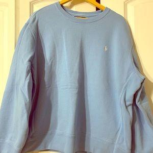 Light Blue Ralph Lauren Sweatshirt